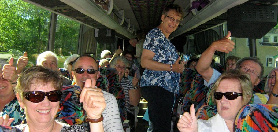 Happy bus tours
